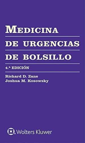 MEDICINA DE URGENCIAS DE BOLSILLO 4º ED.