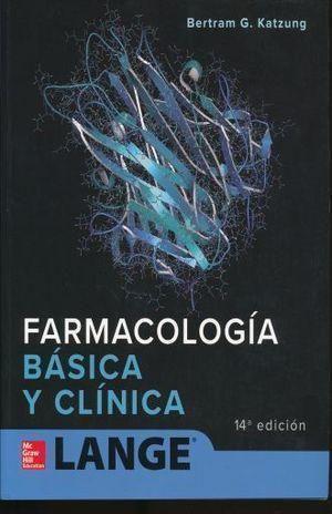 FARMACOLOGIA BASICA Y CLINICA 14º ED.
