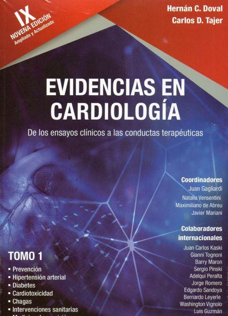 EVIDENCIAS EN CARDIOLOGIA IX 4 VOLS.