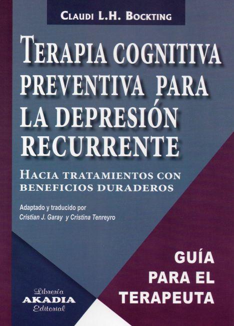 TERAPIA COGNITICA PREVENTIVA PARA LA DEPRESION RECURRENTE