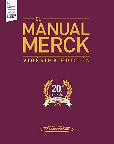 MANUAL MERCK 20º EDICION + EBOOK
