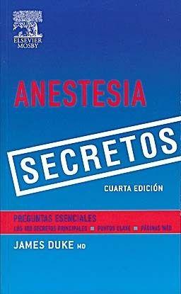 SECRETOS EN ANESTESIA 4º ED.